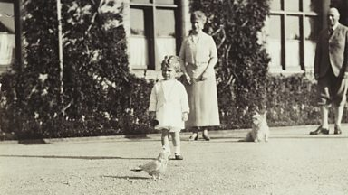 Image for A revealing family photograph of the young Queen Elizabeth II