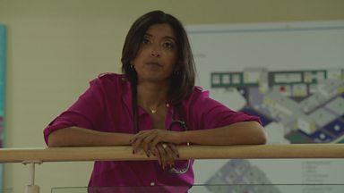 Image for Casualty Video Clip:  Zoe's Promotion