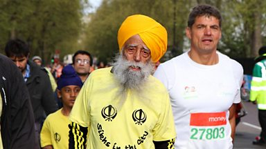 Image for Michael Mosley meets 101-year-old Fauja Singh