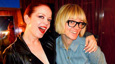 Image for Shirley Manson - Edith Bowman Album Show interview