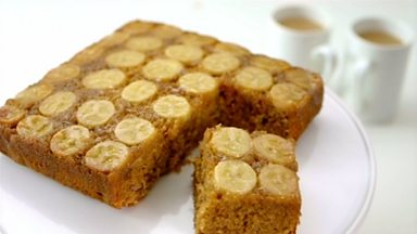 Image for Dulce and banana traybake
