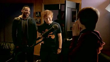 Image for Jake meets Ed Sheeran