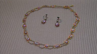 Image for Mosaic necklace and earrings