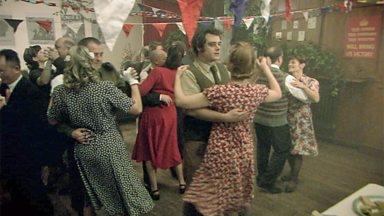 Image for A wartime dance at the Farm
