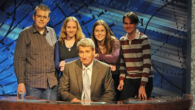 Image for University Challenge 50th anniversary with Tony Livesey