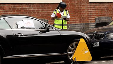 "Image for Car clamping ""a raving disgrace"" - new ban starts today."