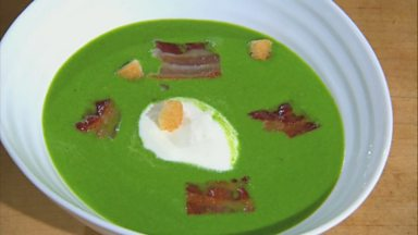Image for Watercress & Pea Soup by James Martin