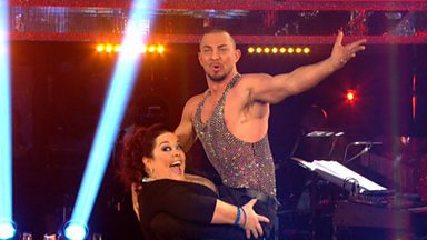 Image for Lisa Riley & Robin Windsor dance the Cha Cha to 'Think'