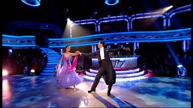 Image for Victoria & Brendan dance the Foxtrot to 'Moondance'