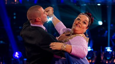 Image for Lisa & Robin dance the Waltz to 'Never Tear Us Apart'