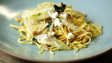 Image for Fennel and feta linguini