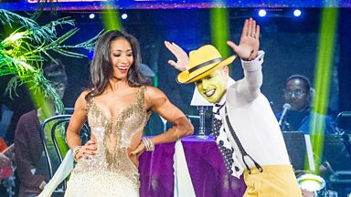 Image for Nicky and Karen dance the Quickstep to 'Hey Pachuco'