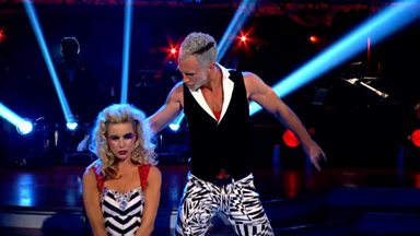 Image for Denise and James dance the Cha Cha to 'Superfreak'