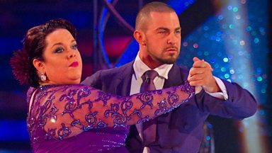 Image for Lisa and Robin dance the Tango to 'Let's Stick Together'
