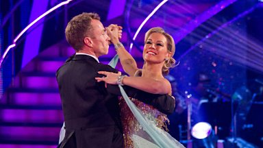 Image for Denise and James dance the Viennese Waltz to 'At Last'