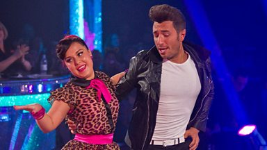Image for Dani and Vincent dance the Jive to 'Dance With Me Tonight'
