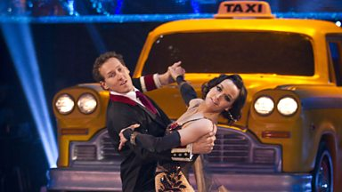 Image for Victoria and Brendan dance the Quickstep to 'Luck Be a Lady'