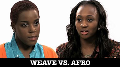 Image for Pressure to be perfect: Weave Vs Afro