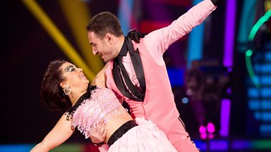 Image for Dani and Vincent dance the Quickstep to 'You Can't Hurry Love'