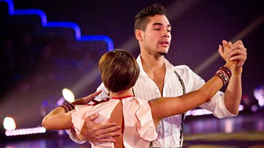 Image for Louis and Flavia dance the American Smooth to 'I Got A Woman'