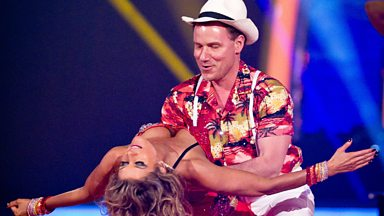 Image for Richard and Erin dance the Salsa to 'Club Tropicana'
