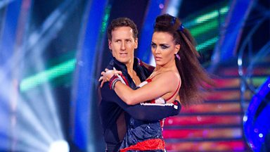 Image for Victoria and Brendan dance the Paso Doble to 'Bicycle Race'