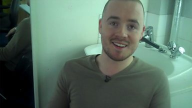 Image for Backstage Buzzcocks: Guest Maverick Sabre chats to us from the make up room