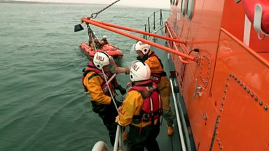 Image for RNLI training exercise