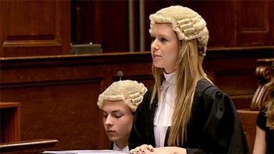 Image for Mock criminal trial at the Old Bailey - further witnesses and closing statements (pt 5/6)