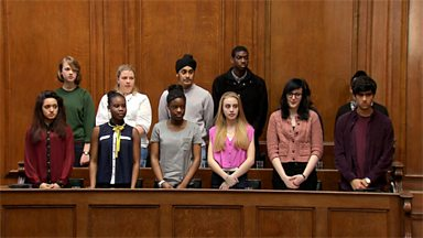 Image for Mock criminal trial at the Old Bailey - verdict and sentencing (pt 6/6)
