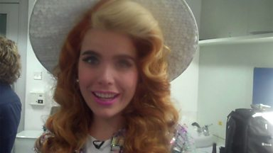 Image for Backstage Buzzcocks: We talk to musical guest Paloma Faith