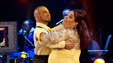 Image for Lisa and Robin dance the Quickstep to 'Bring Me Sunshine'
