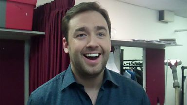 Image for Backstage Buzzcocks: Guest Jason Manford talks to us backstage