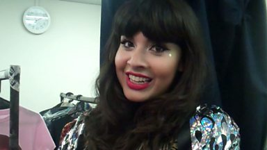 Image for Backstage Buzzcocks: Guest Jameela Jamil fulfills a lifetime ambition