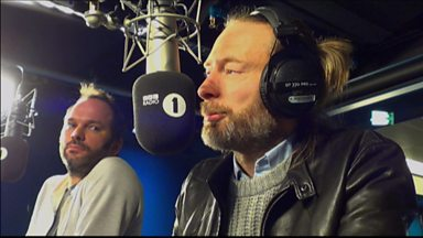 Image for Thom Yorke and Nigel Godrich chat with Zane