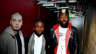 Image for Young Fathers Session Track: Deadline
