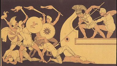 Image for The Iliad: epic landscapes and lyrical death scenes (audio)