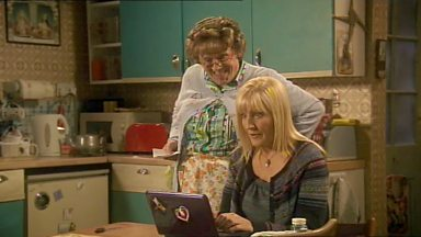 Image for Mrs Brown Tries Google
