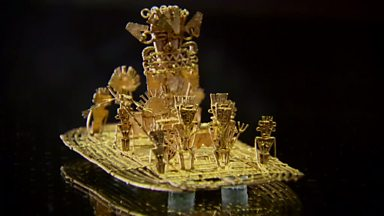 Image for The Golden Raft of the Muisca and the myth of El Dorado