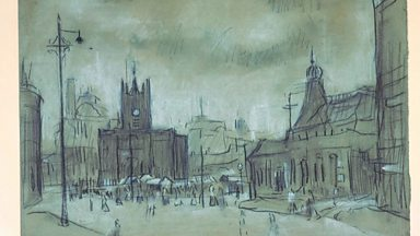 Image for Lowry's Salford Then and Now