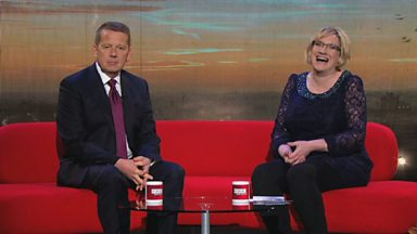 Image for Sarah Millican does Breakfast TV with Bill Turnbull