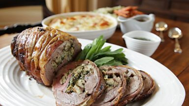 Image for Stuffed shoulder of lamb
