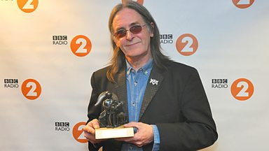 Image for Dougie MacLean accepts his Lifetime Achievement Award for Contribution to Songwriting