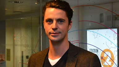 Image for Matthew Goode chats to Steve Wright