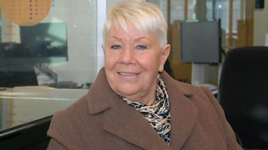 Image for Laila Morse chats to Steve Wright