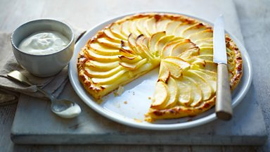 Image for French apple tart