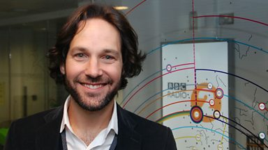 Image for Paul Rudd chats to Steve Wright