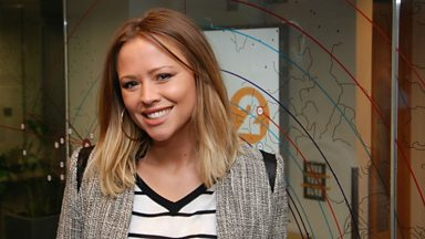 Image for Kimberley Walsh chats to Steve Wright
