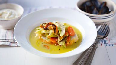 Image for Mussel stew with garlic