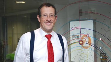 Image for Richard Quest chats to Steve Wright